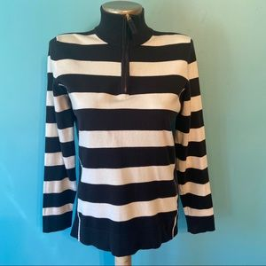 Charter club women's striped sweater